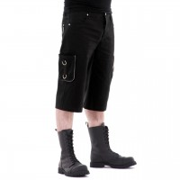 Kurze Gothic Herrenhose Vanadium