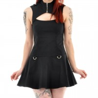 Gothic Kleid Aurum XS