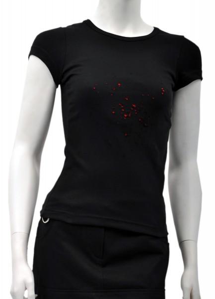 "Sale -50% Gothic-Girlieshirt ""Plumbum"""