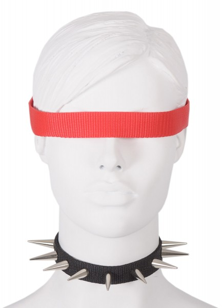 Sale -50% Halsband mit 28mm Nieten