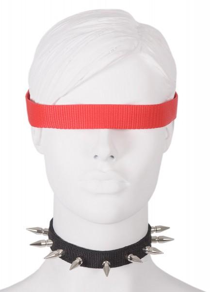 Sale -50% Halsband mit 25mm Nieten