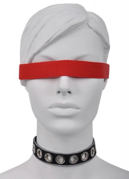 Sale -50% Halsband mit Ösen und reflektierender Borte