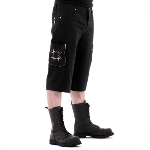 Kurze Gothic Herrenhose Xenon