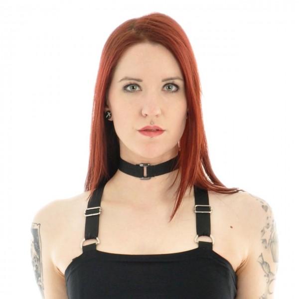 Gothic Halsband mit einer kleinen Schnalle