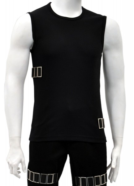 Sale -50% Gothic Muscleshirt Silicium
